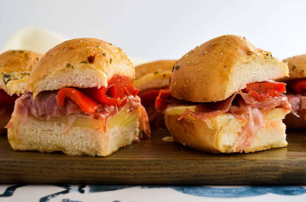 Gluten-Free Italian Sliders