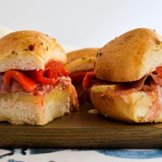 Gluten-Free Italian Slider
