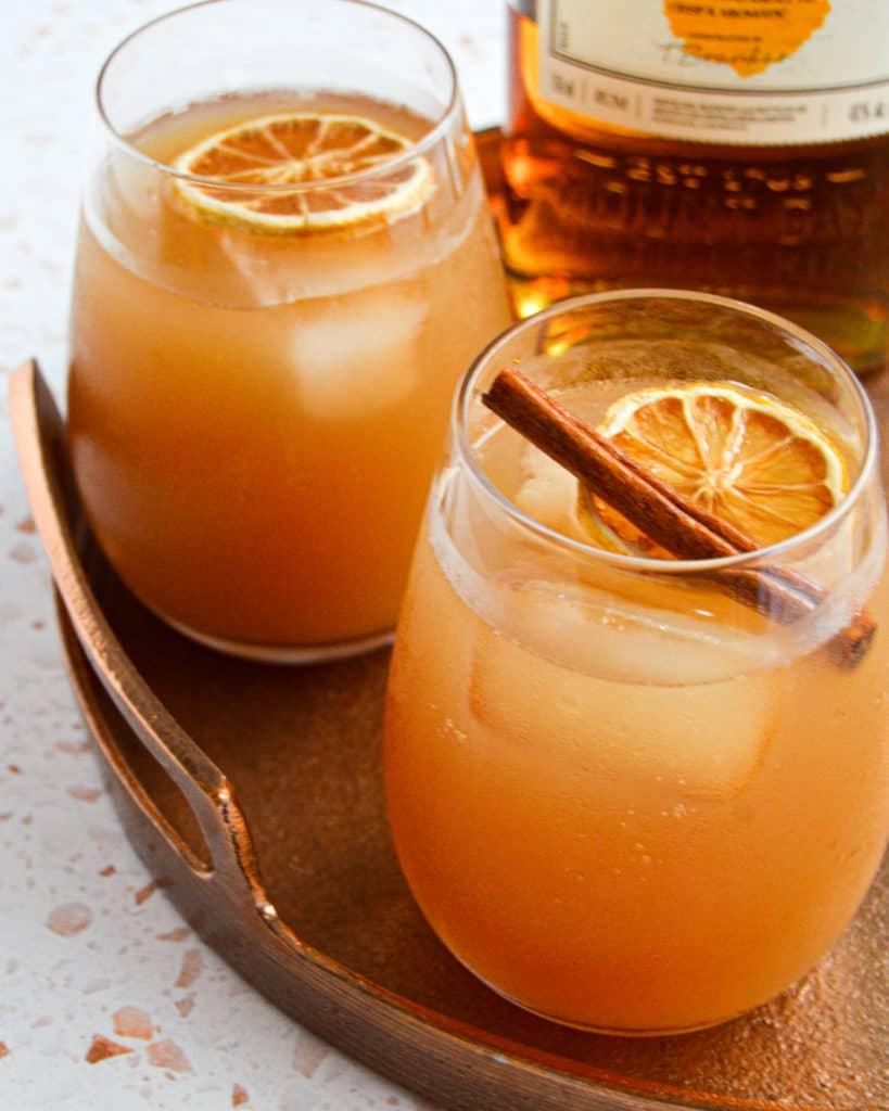 Spiked Apple Cider,Kombucha