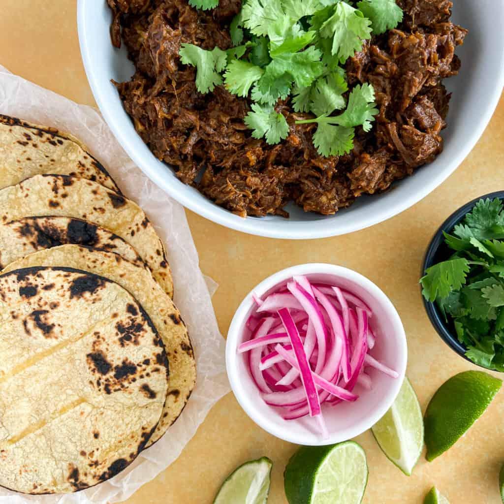 Slow-Cooked Beef Barbacoa Tacos