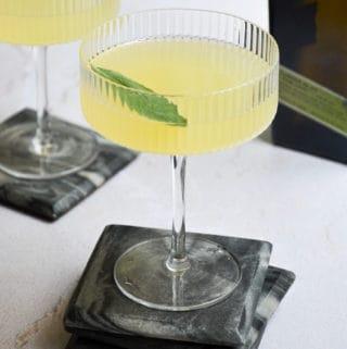 Sage Bee's Knees Cocktail