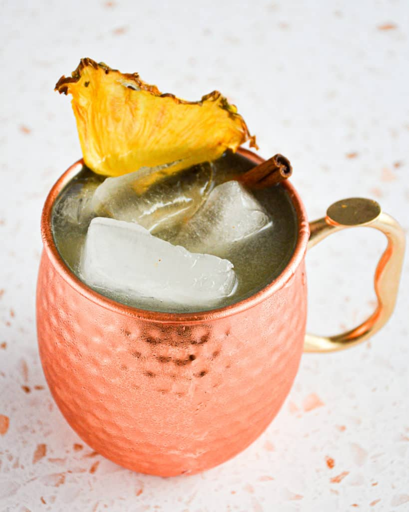 moscow mule,pineapple,fall spice
