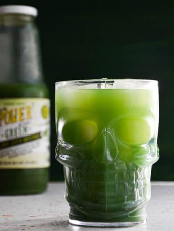 Halloween Green Juice Margarita