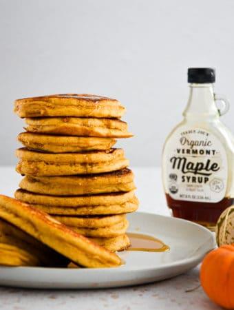 pumpkin protein pancakes,gluten-free,dairy-free