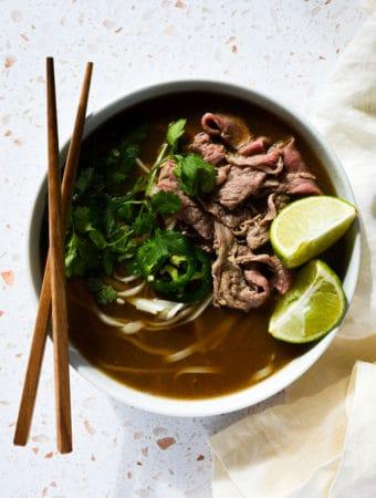 Easy Vietnamese Beef Pho