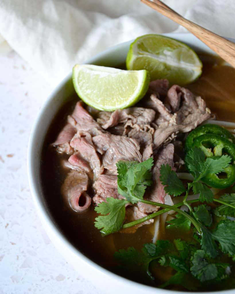Easy Vietnamese Beef Pho 45