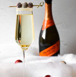 Holiday Prosecco Cocktail