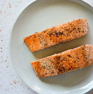 How to Cook Salmon without that White Stuff