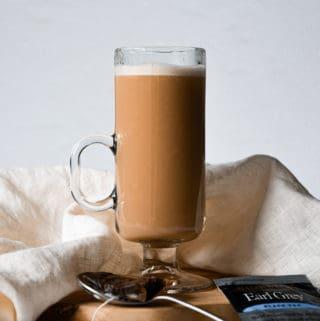 Dairy-Free London Fog Tea Latte