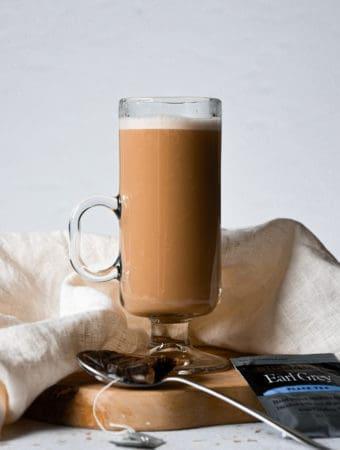 london fog tea latte,earl grey latte,dairy-free