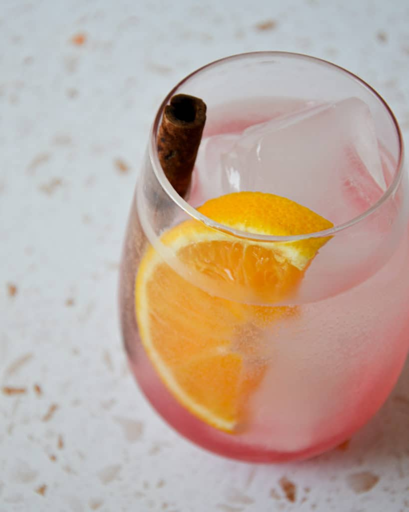 Orange & Cranberry Gin & Tonic 45