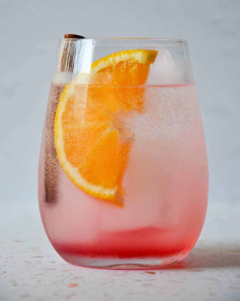 Orange & Cranberry Gin & Tonic