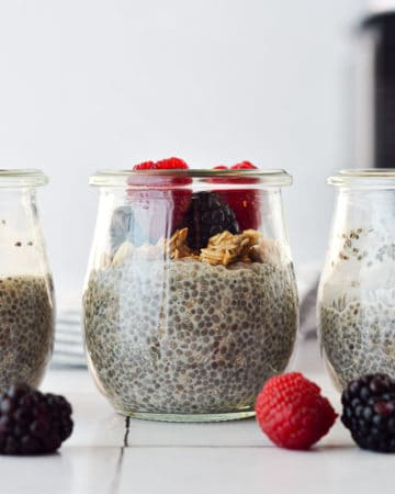 Basic 3 Ingredient Chia Pudding