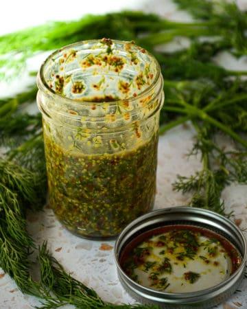 Dill Mustard Salad Dressing