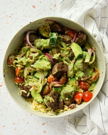 Protein-Packed Greek Pasta Salad