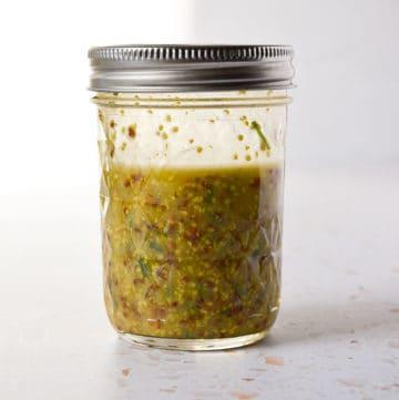 Lemon Chive Salad Dressing