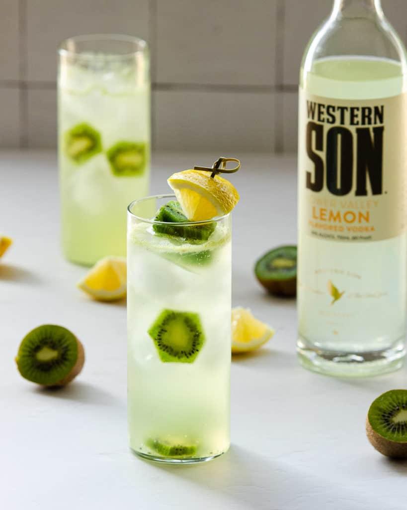 lemon vodka for a spiked lemonade