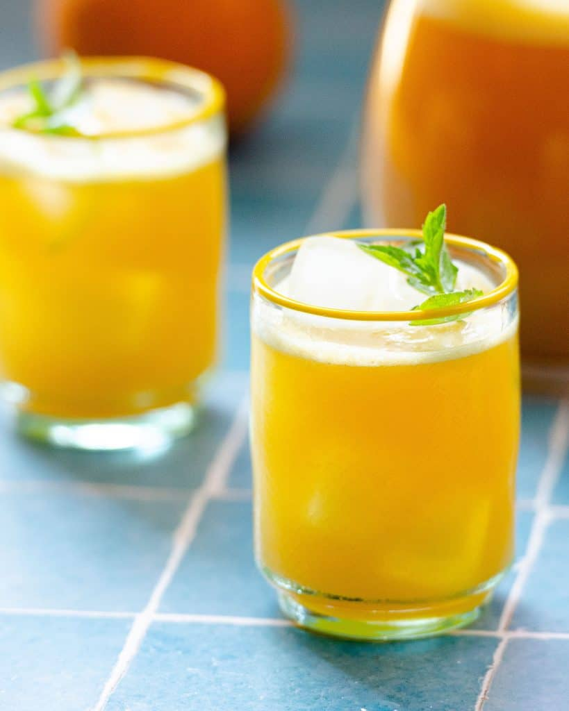 orange agua fresca,agua de naranja,mexican agua fresca,agua fresca