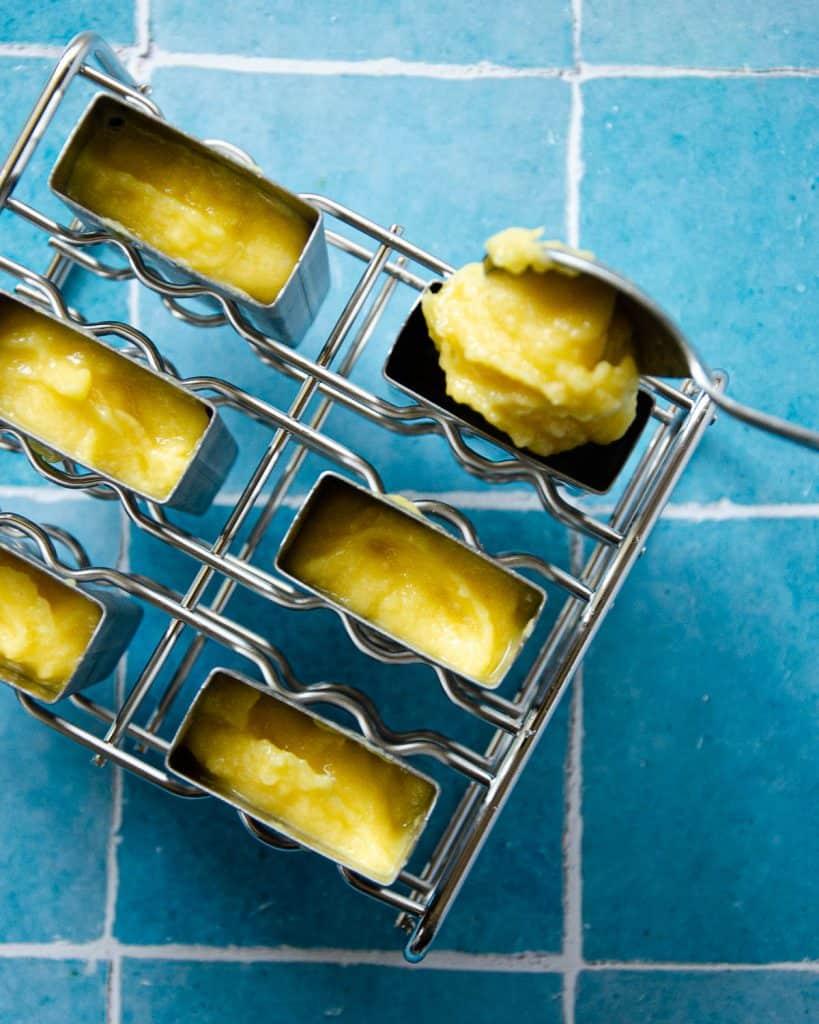 mango pineapple popsicle