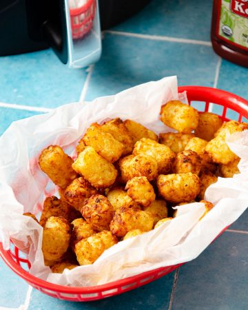 air fryer tater tots,air fried tater tots,tater tots